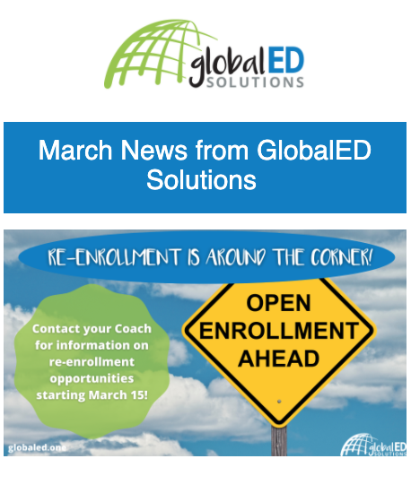 GlobalED May Newsletter